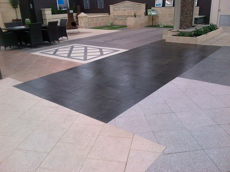 Best Marble & Tile Care  even seals showroom pavers!