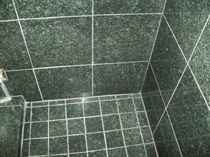 Serpentile tiles clean, polished and sealed by Best Marble & Tile Care