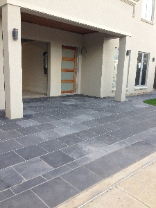 Granite pavers looking dull and lifeless